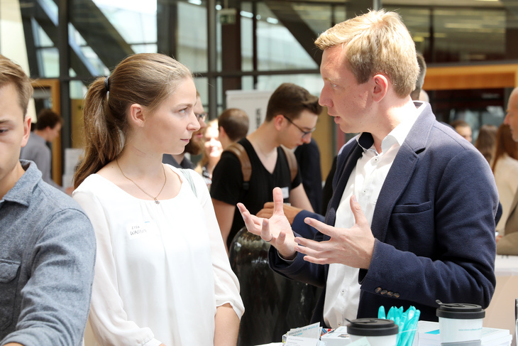 Participants at an event