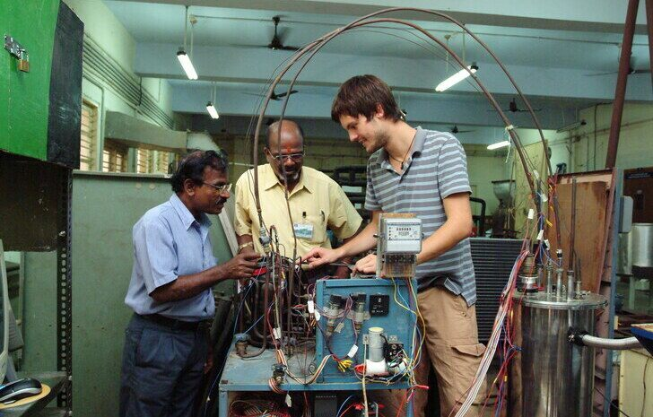 RWTH student at IIT Madras